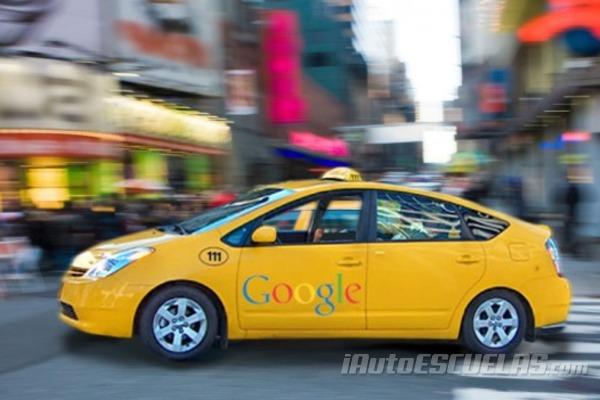 El robot-taxi de Google, un coche sin conductor
